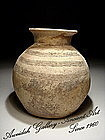 Rare - Canaanite Early Bronze Age Decorated Jar,3000 BC