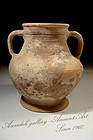 Ancient Greek-Hellenistic Pottery Wine Amphora, 300 BC