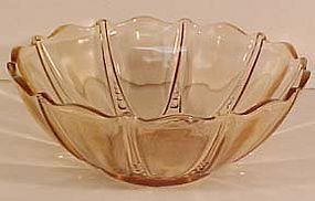 "Anchor Hocking Pink Oyster and Pearl 10.5"" Bowl"