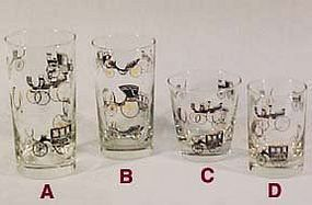 Libbey Carriages Swanky Swigs Glasses