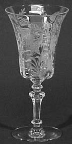 Tiffin Fuchsia Water Goblet