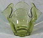 """Duncan & Miller Chartreuse 5.5"""" Vase"""
