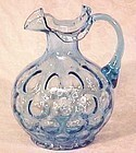 "Fenton Salem Blue Coin Optic 7"" Jug"
