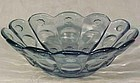 "Fenton Priscilla Salem Blue 10"" Bowl"