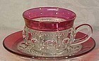 Indiana King's Crown Cup & Saucer