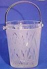 Fenton San Toy Etched Ice Bucket