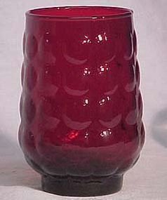 Hocking Red Bubble Water Tumbler
