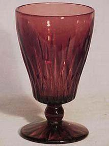 Hazel Atlas Moroccan Amethyst Goblets