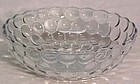 "Hocking Bubble 8"" Salad Bowl Sapphire Blue"
