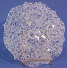 Fenton Ming Etched 3-toed Plate