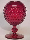 Imperial Red Hobnail Ivy Ball