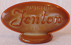 Fenton Chocolate Glass Logo