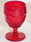 Viking Red Georgian Water Goblet, 10 oz.