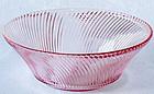 "Federal Diana 9"" Salad Bowl, pink"