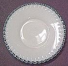 """Fenton Aqua Crest 8.25"""" Plate"""
