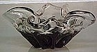 Tiffin Smoke and Crystal Free form Bowl