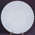 Imperial Grape Dinner Plate, Milkglass
