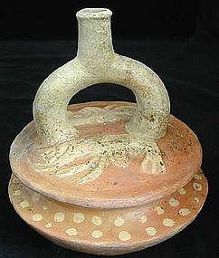 Moche I Crustacean Vessel