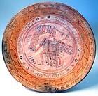 Maya Maize God Plate