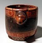 Maya Monkey Vessel