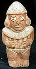 Moche Warrior Figure