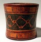 Maya Polychrome Cylinder