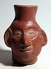 Moche Portrait Jar