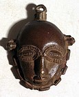 Baule Bronze Maskette