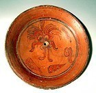 Maya Tlaloc Plate