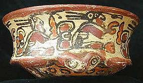 Mayan Toad Effigy Vessel