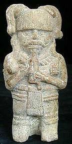 Mayan Musician Figure