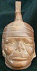 Moche Portrait head