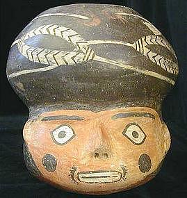 Nazca Portrait Head