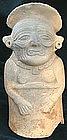 Mayan Old God Figure