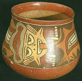 Nazca Polychrome Jar