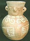Vicus - Moche Figural Jar