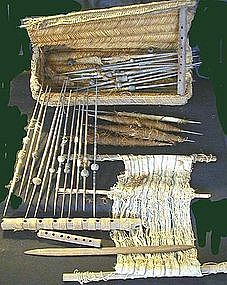 Chancay Weaver's Basket
