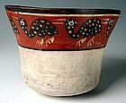 Nazca Extinct Avian Bowl