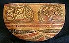 Mayan Glyph-Melon Bowl