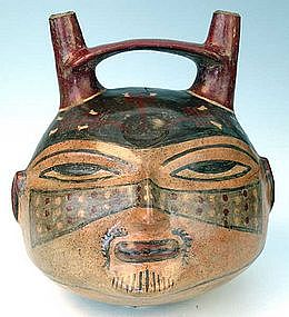Nazca Trophy Head