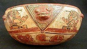 Mayan Effigy Vessel