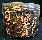 Mayan Ceremonial Vessel