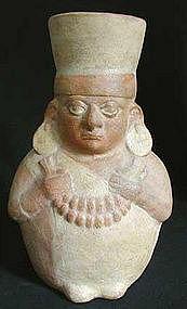 Moche Musician Vessel