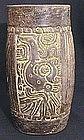 Mayan Deity Cylinder