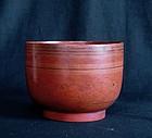 Burmese Lacquer Bowl