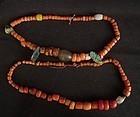 Antique Tibetan Coral Beads
