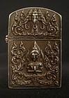 Thai Silver Zippo Lighter