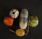 Antique Tibetan Beads