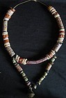 African Venetian Millefiori Beads