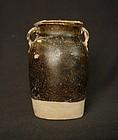 Five Dynasties Black Jar